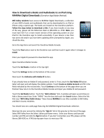 How to Download e-Books and Audiobooks to an iPad Using