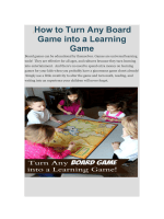 /How to Turn Any Board Game into a Learning Game