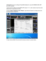 USER MANUAL how to configure PowerSDR software for - Yimg
