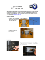 How to setup a DTV converter box - WorldNow
