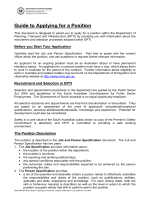 HOW TO WRITE AN APPLICATION - Vacancies.sa.gov.au