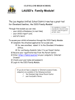 Sample How-To Flyer - Cleveland Charter High School