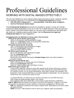 digital formats Know how to work with digital formats effectively