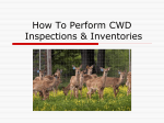 How To Perform CWD Inspections  Inventories - Oklahoma