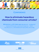 How to eliminate hazardous chemicals from consumer - EuroSafe