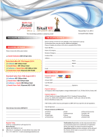 BOOKING DETAILS DELEGATE REGISTRATION FORM DELEGATE DETAILS HOW TO