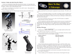 How To Buy A Telescope - Boothe Memorial Astronomical Society