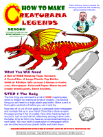CREATURAMA How To Make A Dragon