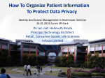 How To Organize Patient Information To Protect - Hellmuth Broda