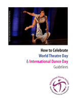 How to Celebrate World Theatre Day  International Dance Day