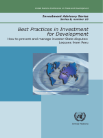 Best Practices in Investment for Development How to - Unctad