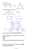 ASA AAS and sometimes SSA (aka donkey zone) How to use the