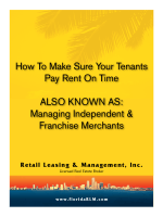 How To Make Sure Your Tenants Pay Rent On Time ALSO KNOWN
