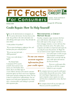 Credit Repair: How To Help Yourself