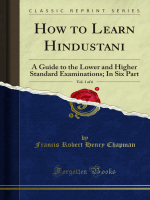 How to Learn Hindustani: A Guide to the Lower - Forgotten Books