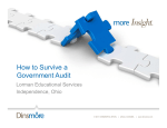 How to Survive a Government Audit - Dinsmore  Shohl LLP