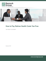 How to Pay Retiree Health Costs Tax-Free - Reznick Group