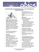 Understanding ABI - How to respond to Angry behaviour?