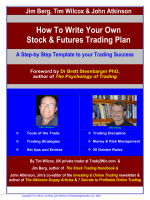 How To Write Your Own Stock  Futures Trading Plan