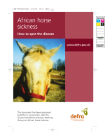 African horse sickness - How to spot the disease