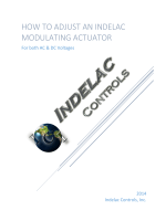 How to adjust an Indelac Modulating actuator - Indelac Controls Inc
