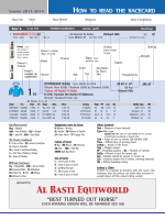 "HOW TO READ THE RACECARD ""BEST TURNED OUT - Al Adiyat"