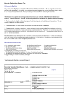 How to Collect the Resort Tax Summer Vendor Remittance Form