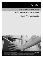 How to transfer to AQA