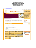HOW TO SUBMIT YOUR INFORMATION FOR THE 2014 PQRS