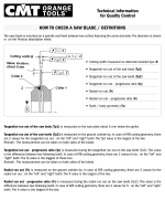 Technical information for Quality Control how To CheCk a saw