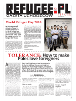 TOLERANCE: How to make Poles love foreigners - Refugee.pl