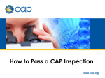 How to Pass a CAP Inspection - PointofCare.net