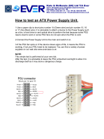 How to test an ATX Power Supply Unit. - Evercase Technology (UK)