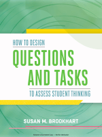 TO ASSESS STUDENT THINKING HOW TO DESIGN - ASCD