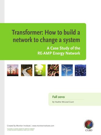 Transformer: How to build a network to change a - Monitor Institute