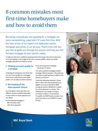 8 common mistakes most first-time homebuyers make and how to
