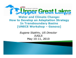 Water and Climate Change: How to Develop an - UNECE