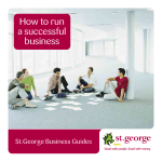 How to run a successful business - Home - St.George Bank