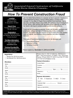 How To Prevent Construction Fraud - Associated General