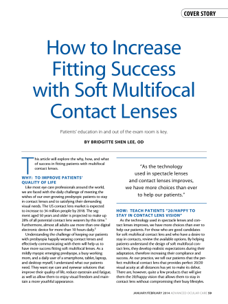 How to Increase fitting Success with Soft Multifocal - EyetubeOD