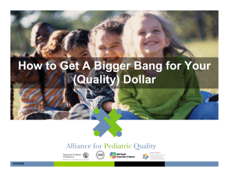 How to Get a Bigger Bang - presentation - nachri
