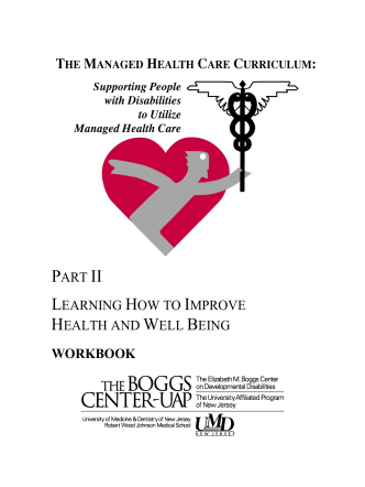 PART II LEARNING HOW TO IMPROVE HEALTH - AUCD Home