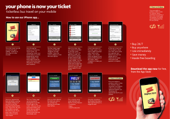 M TICKETING BH HOW TO USE OUR iPhone APP for website