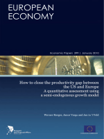 How to close the productivity gap between the US and Europe: A