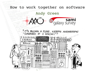 How to work together on software Andy Green