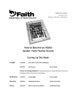 How to Become an Addict - Faith Assembly of God
