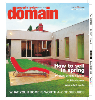 How to sell in spring - Domain