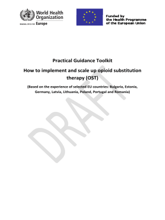 Practical Guidance Toolkit How to implement and - WHO/Europe
