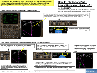 How To: Fly Vectors Part 1 Lateral Navigation, Page 1 of 2 - TGIS