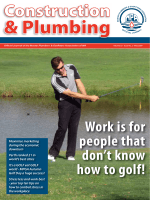 Work is for people that dont know how to golf! - mpawa.asn.au